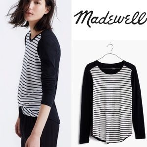 Madewell Whisper Cotton Crewneck Long Sleeve